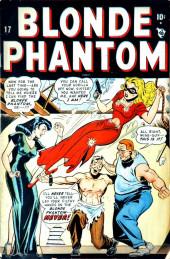 Blonde Phantom Comics (Timely Comics - 1946) -17- Issue # 17