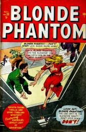 Blonde Phantom Comics (Timely Comics - 1946) -20- Issue # 20