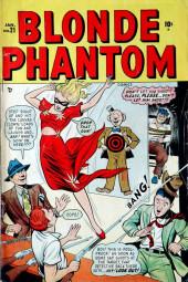 Blonde Phantom Comics (Timely Comics - 1946) -21- Issue # 21