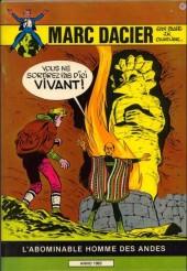 Marc Dacier (1re série) -8- L'Abominable Homme des Andes