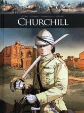 Ils ont fait l'Histoire -26a2019- Churchill - Tome 1/2