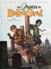 Les quatre de Baker Street -1a2019- L'Affaire du rideau bleu
