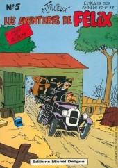 Félix (Tillieux) (N&B) -5- Les aventures de Félix