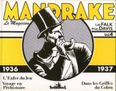 Mandrake (Intégrale Futuropolis) -4- Vol.4 - 1936/1937