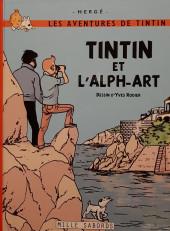 Tintin - Pastiches, parodies & pirates -19d2020- Tintin et l'Alph-Art