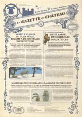Le château des Animaux -5- La Gazette du Château n°5