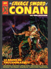 Savage Sword of Conan (The) (puis The Legend of Conan) - La Collection (Hachette) -69- Le règne de thulandra thuu