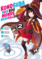 Konosuba - Sois béni monde merveilleux ! -2- Tome 2