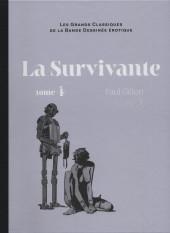 Les grands Classiques de la Bande Dessinée érotique - La Collection -106107- La Survivante - Tome 4