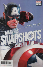 Marvels Snapshots (2020) - Captain America: Marvels snapshots