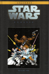 Star Wars - Légendes - La Collection (Hachette) -118118- Star Wars Classic - #13 à #17, #24