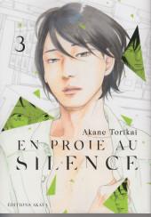 En proie au silence -3- Volume 3