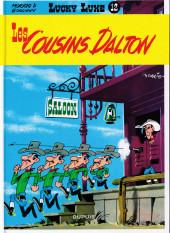 Lucky Luke -12f2019- Les cousins Dalton