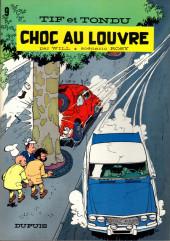 Tif et Tondu -9a1983- Choc au louvre