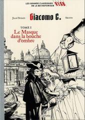 Les grands Classiques de la BD Historique Vécu - La Collection -18- Giacomo C. - Tome I : Le Masque dans la bouche d'ombre