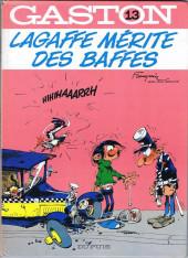 Gaston -13a1982/11- Lagaffe mérite des baffes