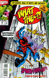 What the..?! (Marvel comics - 1988) -26- Fall Special! Spider-Ham 1588 *Marked Down From 2099