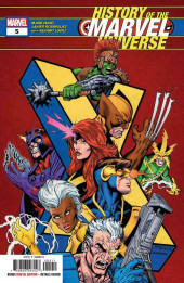 History of the Marvel Universe (Marvel comics - 20) -5- Issue # 5