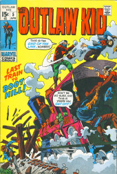 Outlaw Kid Vol.2 (The) (Marvel - 1970) -5- Last Train to Boot Hill!