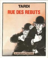 (AUT) Tardi -6- Rue des rebuts