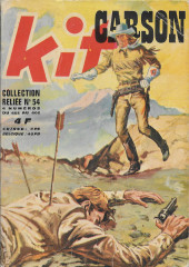 Kit Carson -Rec54- Collection reliée N°54 (du n°403 au n°406)
