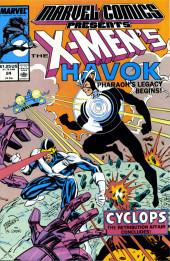 Marvel Comics Presents Vol.1 (Marvel Comics - 1988) -24- The X-Men's Havok Pharaoh's Legacy Begins!