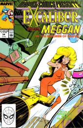 Marvel Comics Presents Vol.1 (Marvel Comics - 1988) -34- Meggan in the Kitchen of Death!