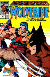 Marvel Comics Presents Vol.1 (Marvel Comics - 1988) -42- Alone Against the Black Shadow!