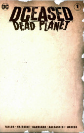 Dceased: Dead Planet (DC Comics - 2020) -1VC- Issue # 1