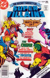 Secret Society of Super-Villains (The) (DC comics - 1976) -9- Issue # 9