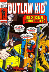 The outlaw Kid Vol.2 (Marvel - 1970) -6- Six-Gun Shoot-Out!