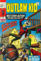 The outlaw Kid Vol.2 (Marvel - 1970) -8- Six-Gun Pay-off!