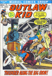 The outlaw Kid Vol.2 (Marvel - 1970) -11- Thunder Along the Big Iron!
