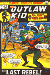 The outlaw Kid Vol.2 (Marvel - 1970) -13- The Last Rebel!