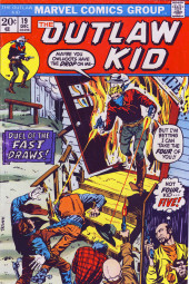 The outlaw Kid Vol.2 (Marvel - 1970) -19- Duel of the Fast Draws!