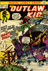 The outlaw Kid Vol.2 (Marvel - 1970) -21- Death Rides the Last Train to Boot Hill!