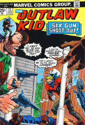 The outlaw Kid Vol.2 (Marvel - 1970) -22- Six-Gun Shoot-Out!
