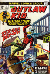 The outlaw Kid Vol.2 (Marvel - 1970) -24- Six-Gun Pay-Off!