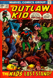 The outlaw Kid Vol.2 (Marvel - 1970) -25- The Kid's Last Stand!