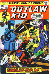 The outlaw Kid Vol.2 (Marvel - 1970) -28- Thunder Along the Big Iron!