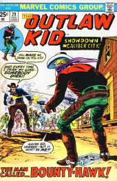 The outlaw Kid Vol.2 (Marvel - 1970) -29- The Man Called... Bounty-Hawk!