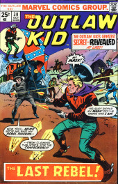 The outlaw Kid Vol.2 (Marvel - 1970) -30- The Last Rebel!
