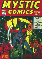 Mystic comics Vol.1 (Timely comics - 1940) -1- Issue # 1