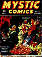 Mystic comics Vol.1 (Timely comics - 1940) -2- Issue # 2
