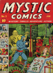 Mystic comics Vol.1 (Timely comics - 1940) -3- Issue # 3