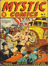Mystic comics Vol.1 (Timely comics - 1940) -4- Issue # 4