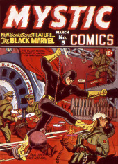 Mystic comics Vol.1 (Timely comics - 1940) -5- Issue # 5