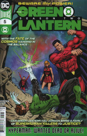 Green Lantern - Season Two (The) (DC Comics - 2019) -5- Wanted: Hyperman Dead or Alive!