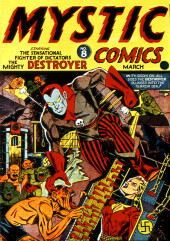 Mystic comics Vol.1 (Timely comics - 1940) -8- Issue # 8