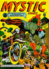 Mystic comics Vol.1 (Timely comics - 1940) -10- Issue # 10